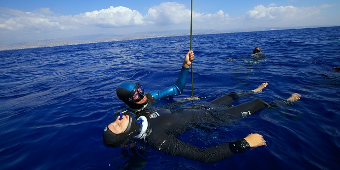 Amorgos Big Blue diving help
