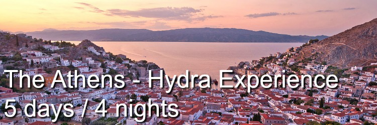 Athens Hydra island experience
