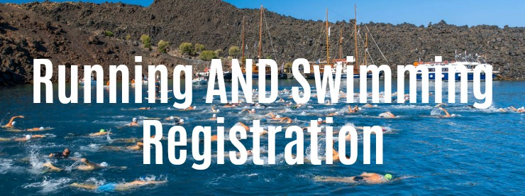 Run Swim Santorini register