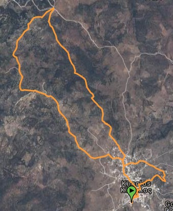 Kimolos Trail 9km Map